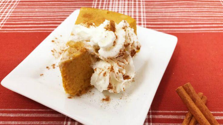Easy Instant Pot Keto Crustless Pumpkin Pie