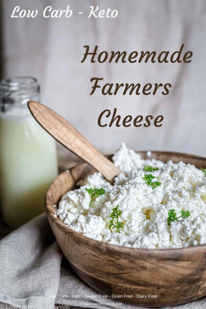 Low Carb Farmers Cheese