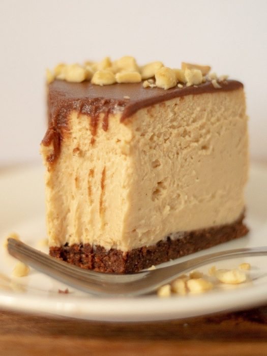 Chocolate Peanut Butter Cheesecake | Keto, Instant Pot