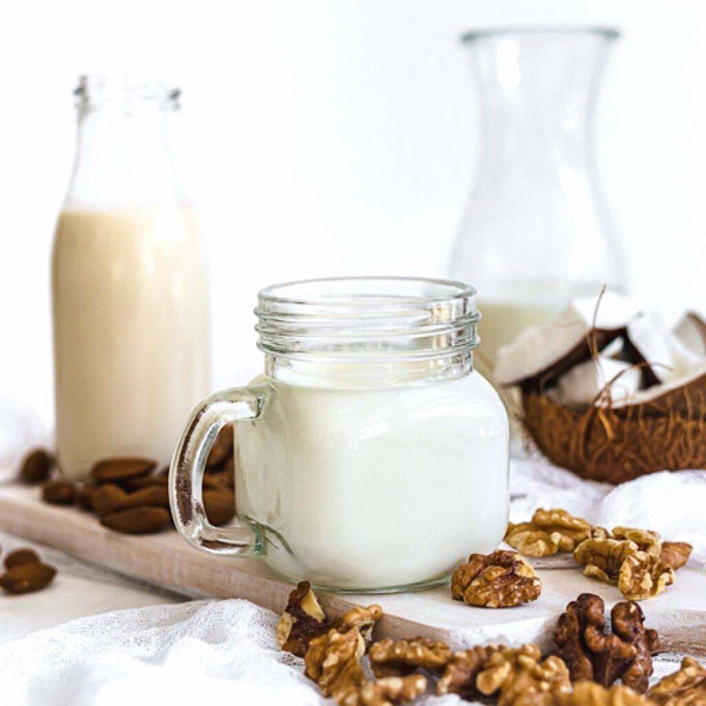 Various Keto Milk choices
