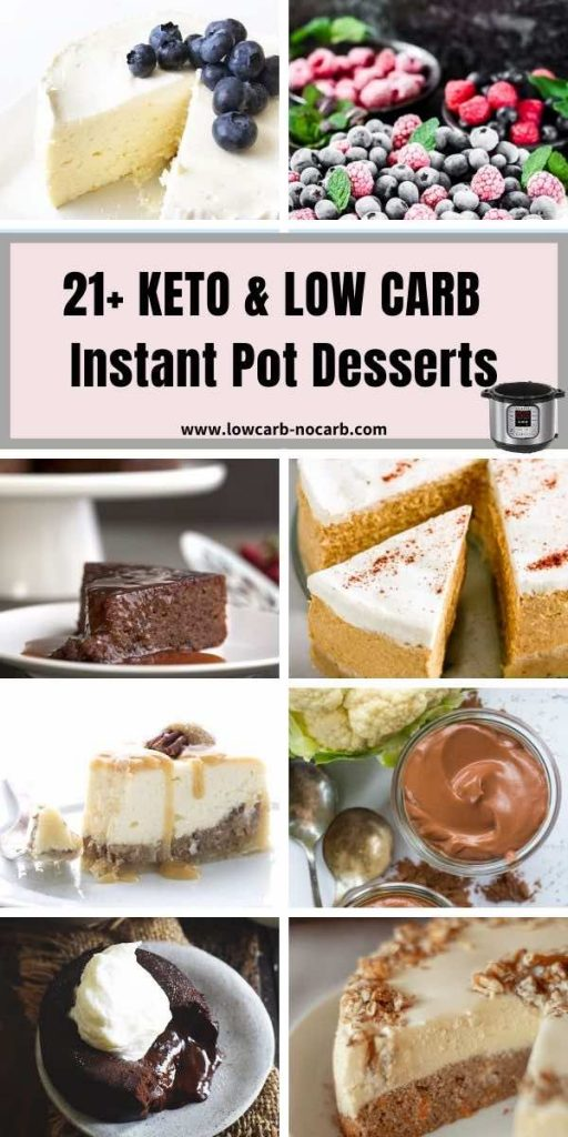 Low Carb and Keto Instant Pot Dessert Collection