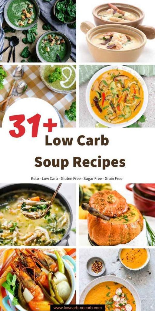 Low Carb and Keto Soup Recipes