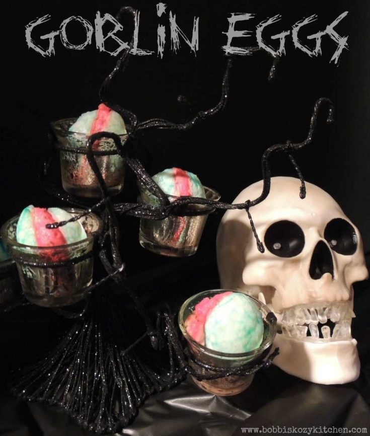 Goblin (Deviled) Eggs for Trick or Treat #SundaySupper #Halloween Party