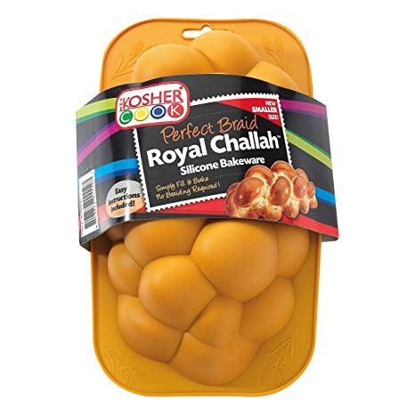 Silicone Braided Challah Pan