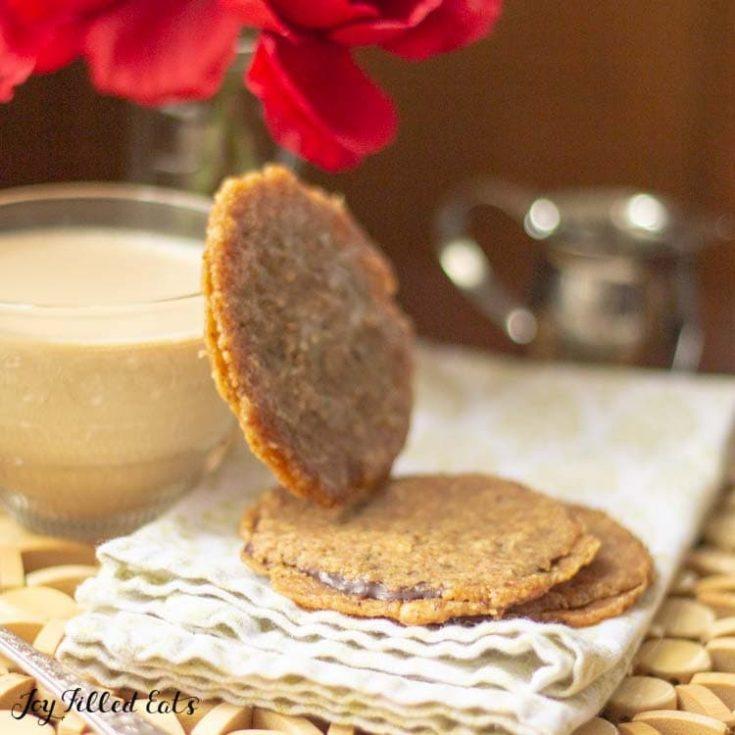 Florentine Cookies - Low Carb, Keto, Gluten-Free, THM S