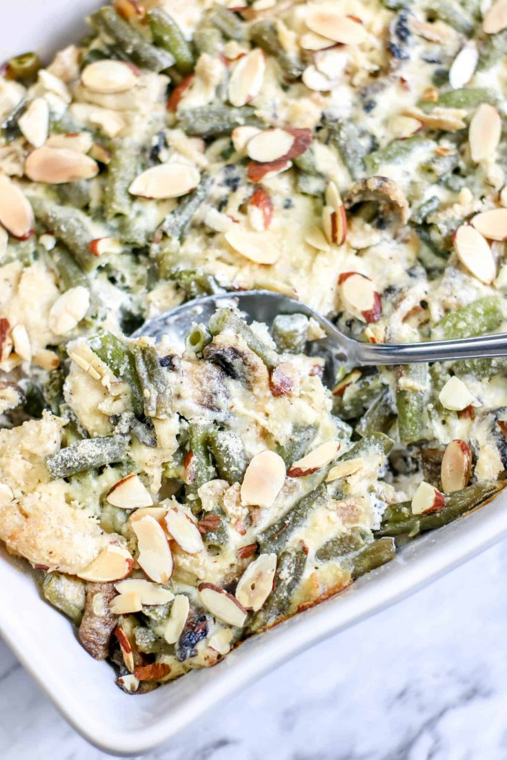 Low Carb Green Bean Chicken Casserole