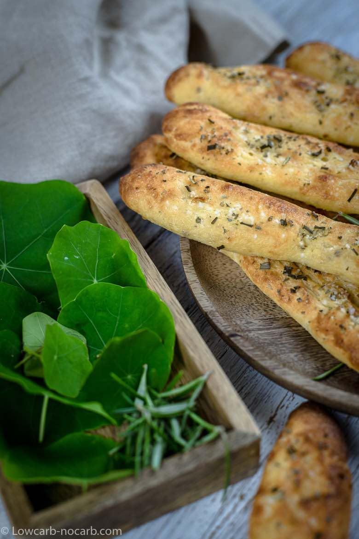 Keto Fathead Breadsticks