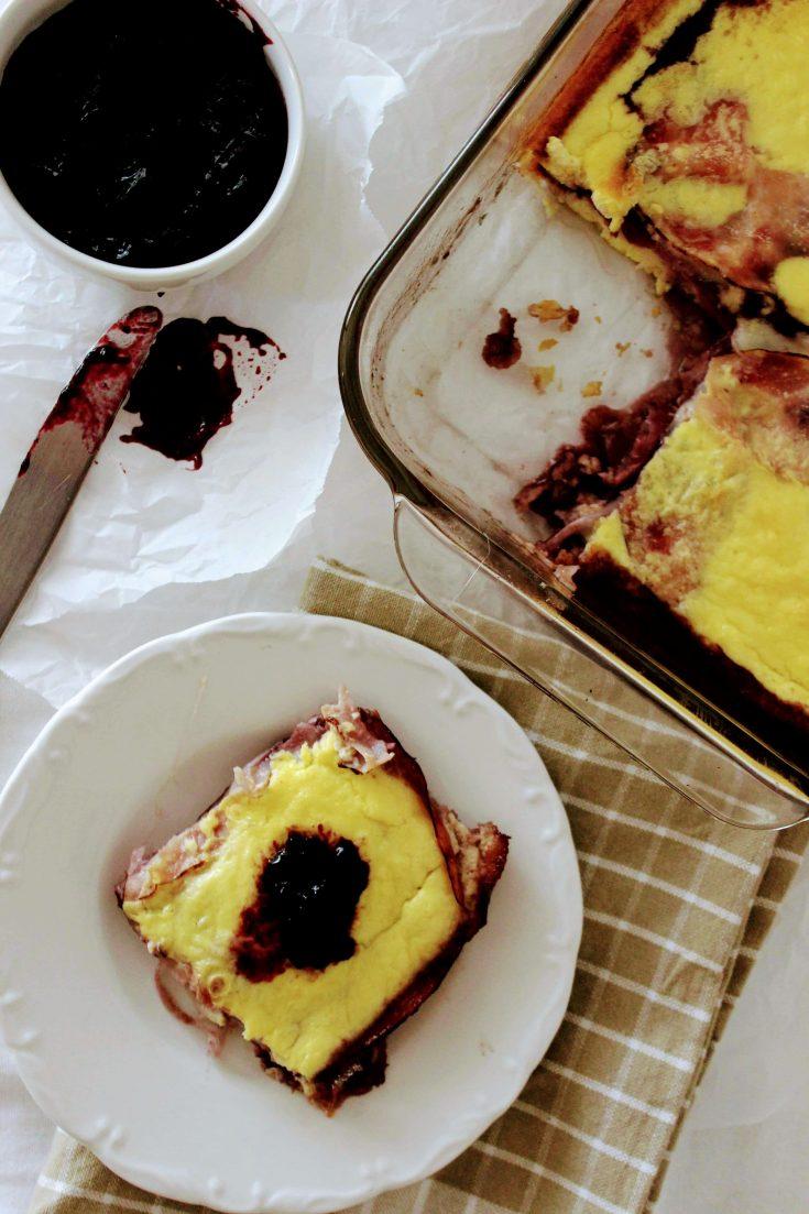 Keto Monte Cristo Breakfast Casserole Recipe