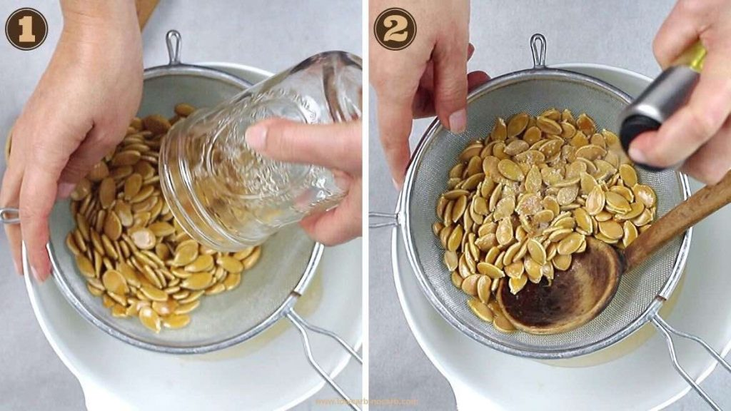 Seasoning Pumpkin Seeds