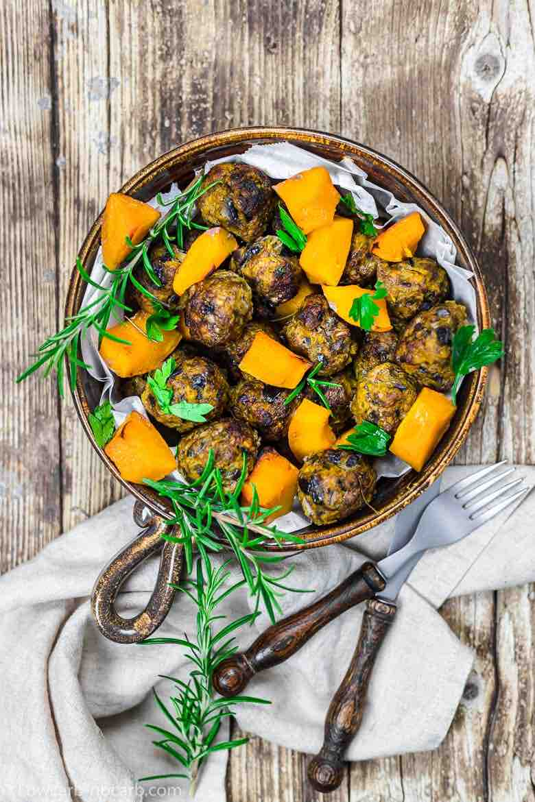 Keto Meatballs with Rosemary