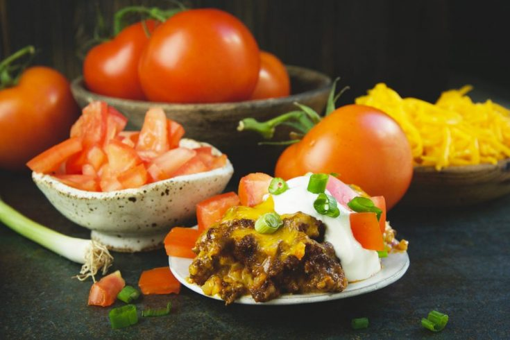 Low-Carb Mexican Taco Casserole