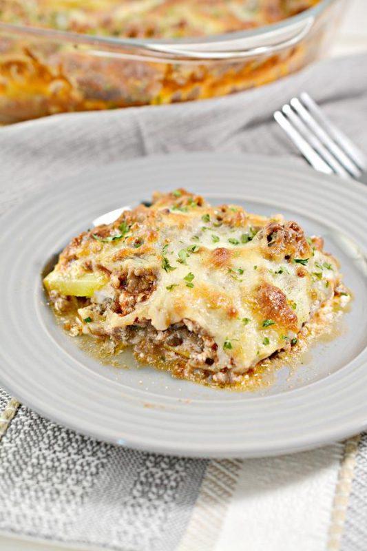 Keto Lasagna Casserole – BEST Low Carb Lasagna Recipe {Easy Meal} No Noodle Lasagna