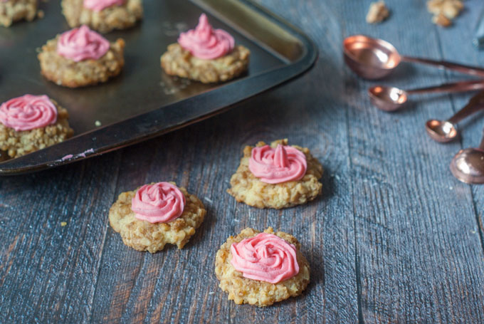 Low Carb Thumbprint Cookies - delicious low carb treat for the holidays