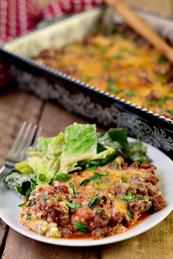 Low-Carb Italian Beef Bake