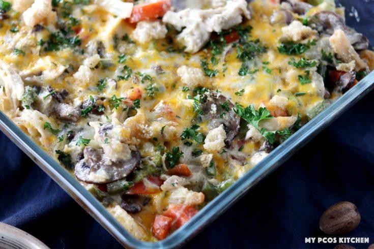 Keto Turkey Leftover Casserole Recipe