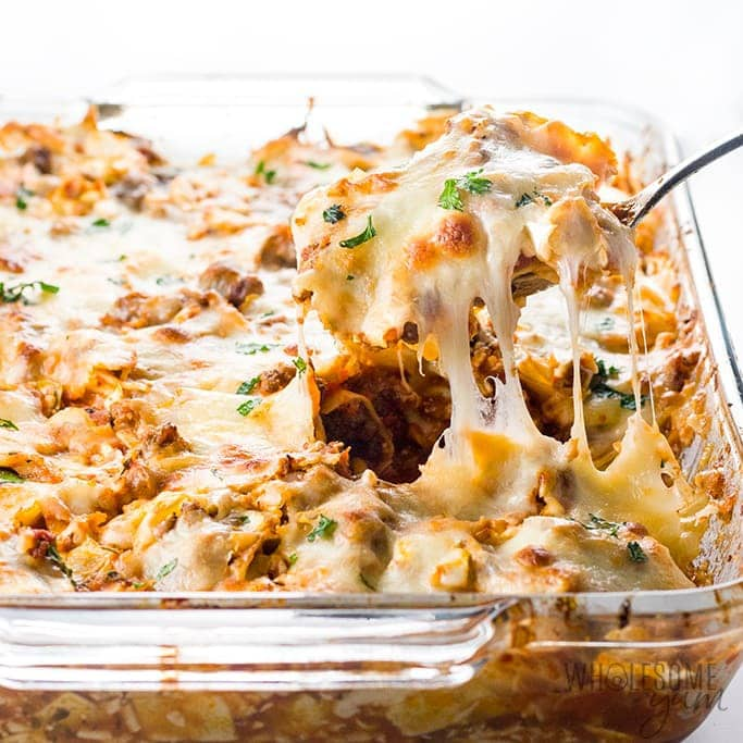 Easy Lazy Cabbage Roll Casserole Recipe - Low Carb