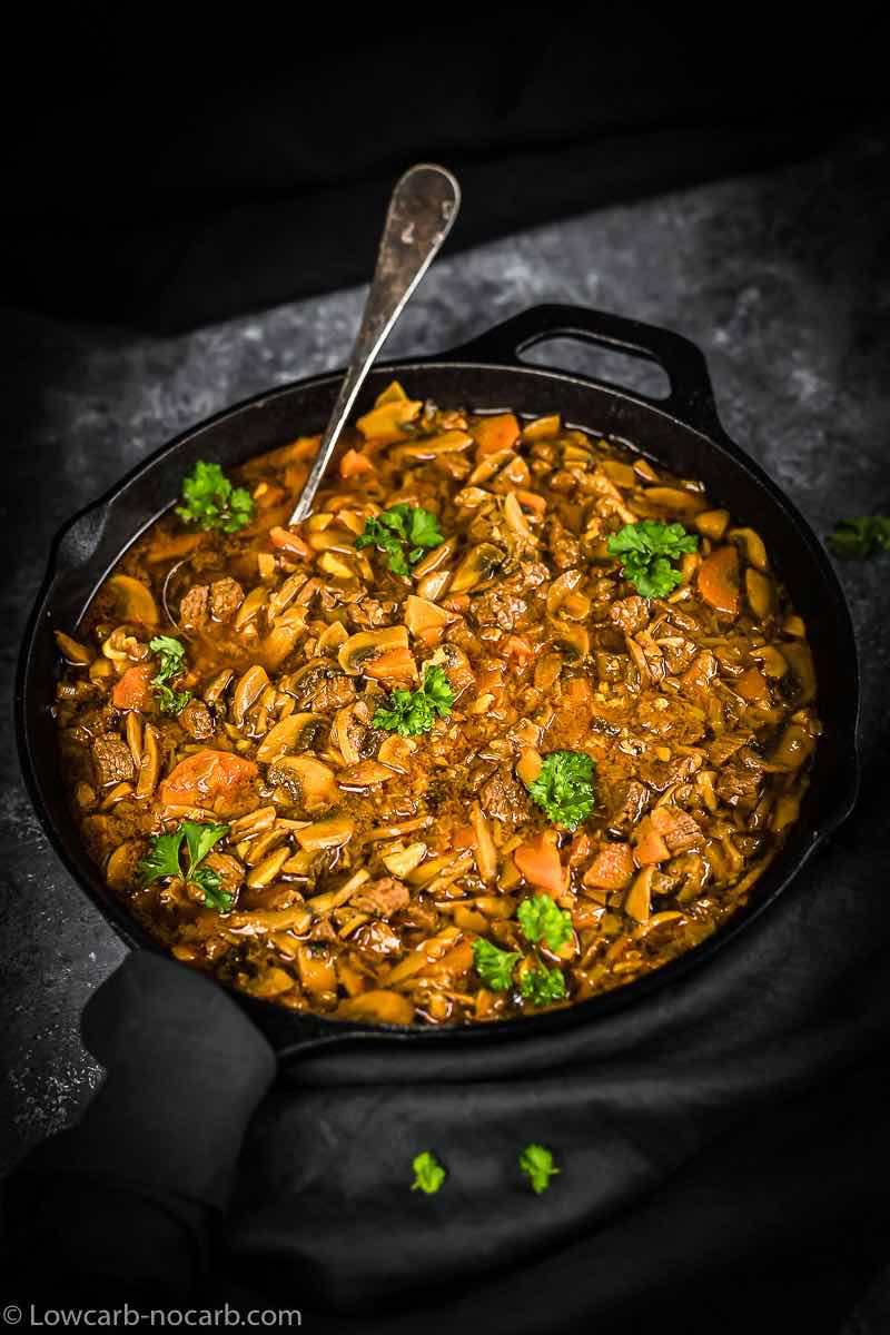 Goulash in the Cast Iron