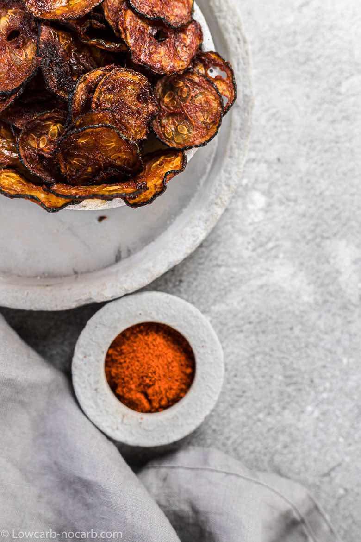 zucchini chips recipe with smoked paprika