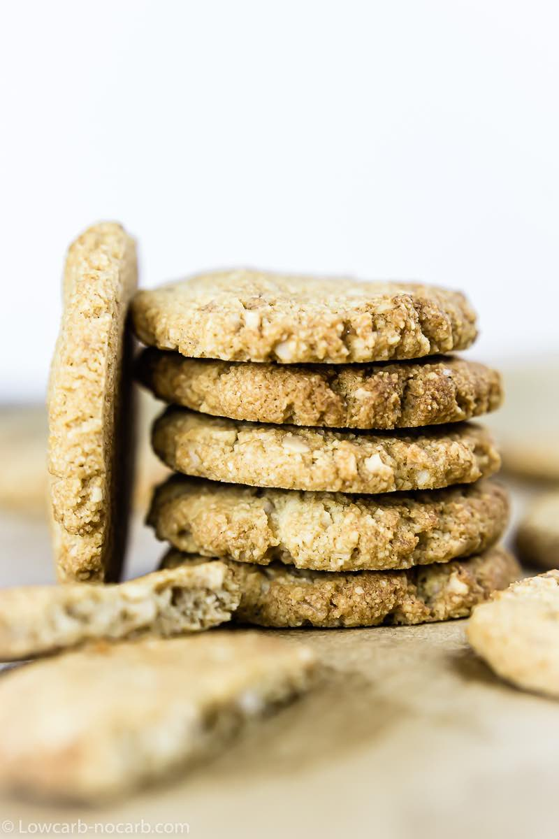 Keto Almond Flour Shortbread Cookies Recipe