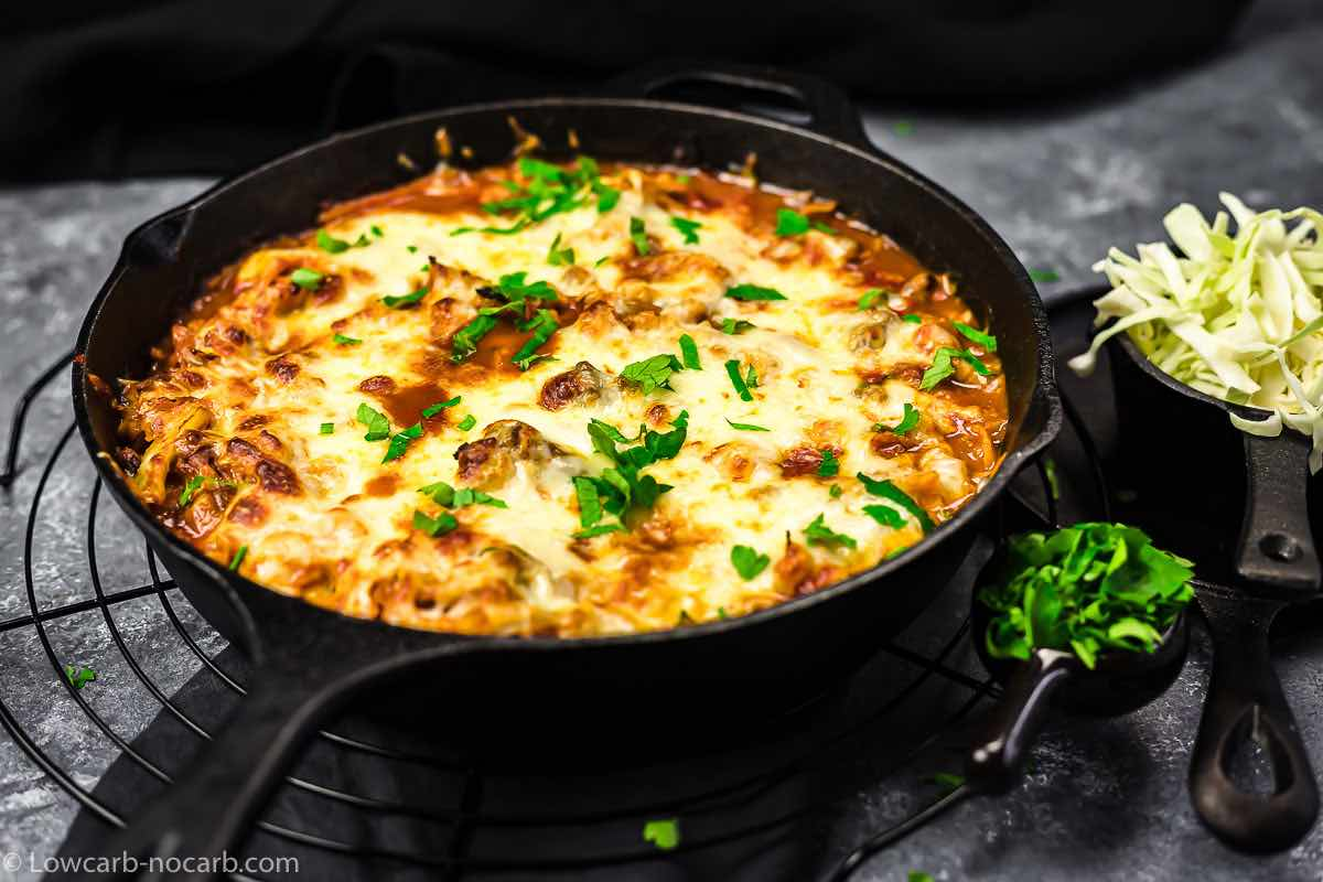Easy Keto Comfort Food in a Cast Iron