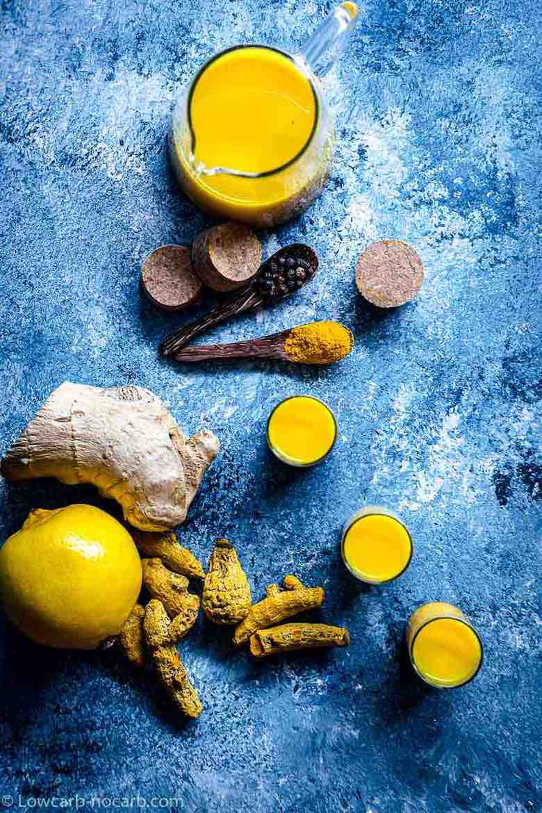 boost Immune System with Turmeric Ginger shots