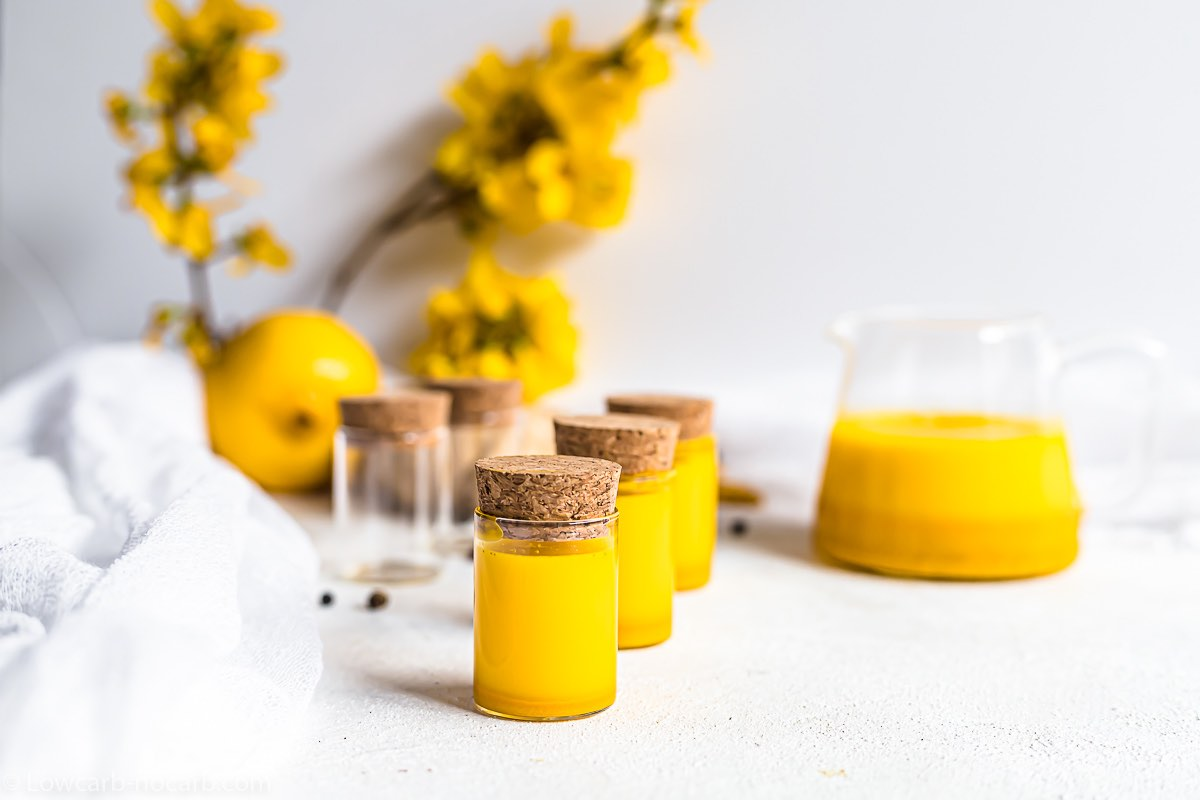 Wellness Shots made from Turmeric and Ginger