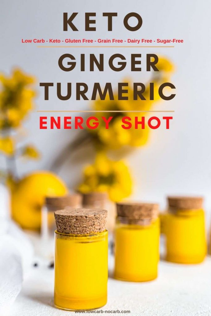 Wellness Shots made from Ginger and Turmeric