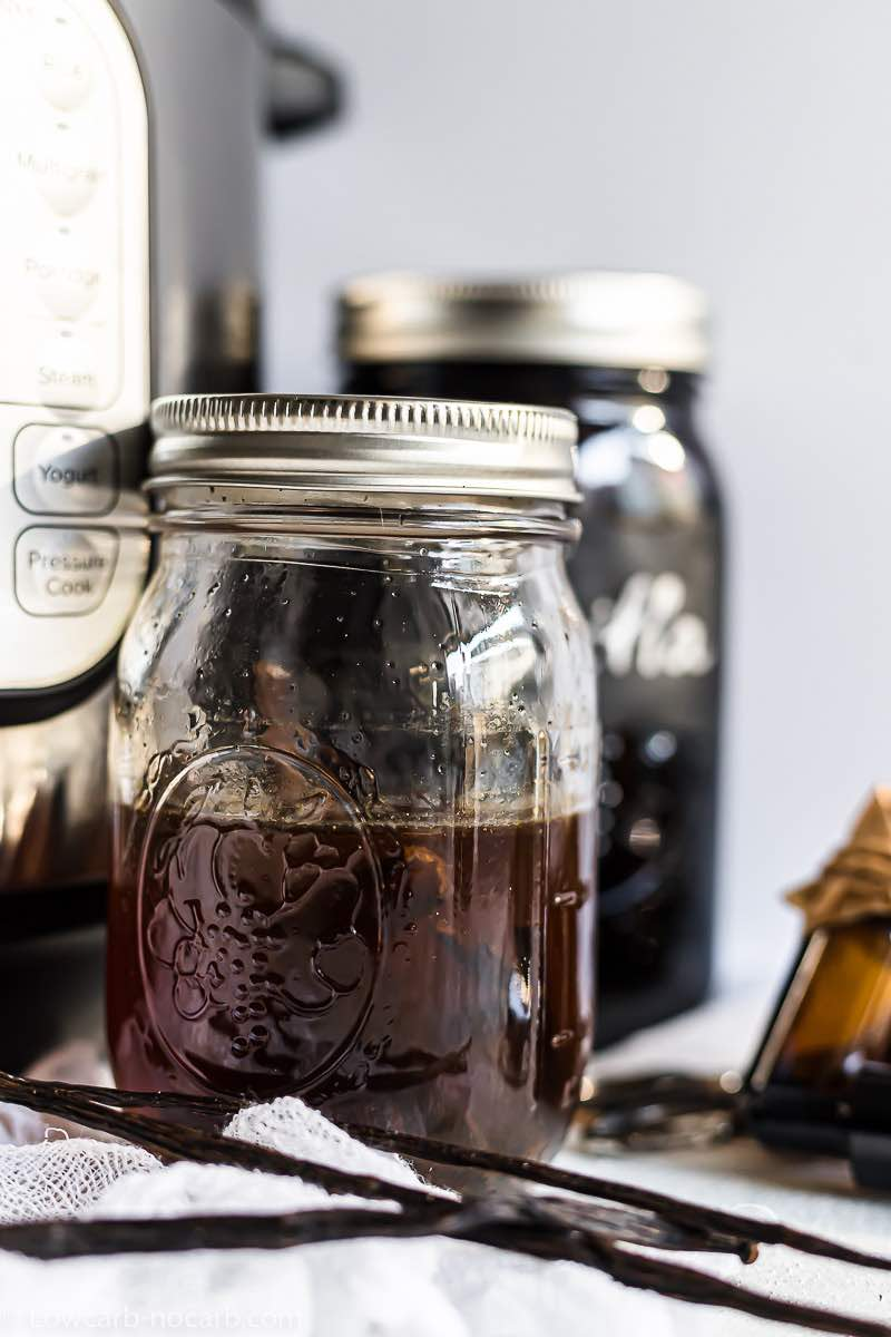 Quick and Easy Sugar-Free Vanilla Extract