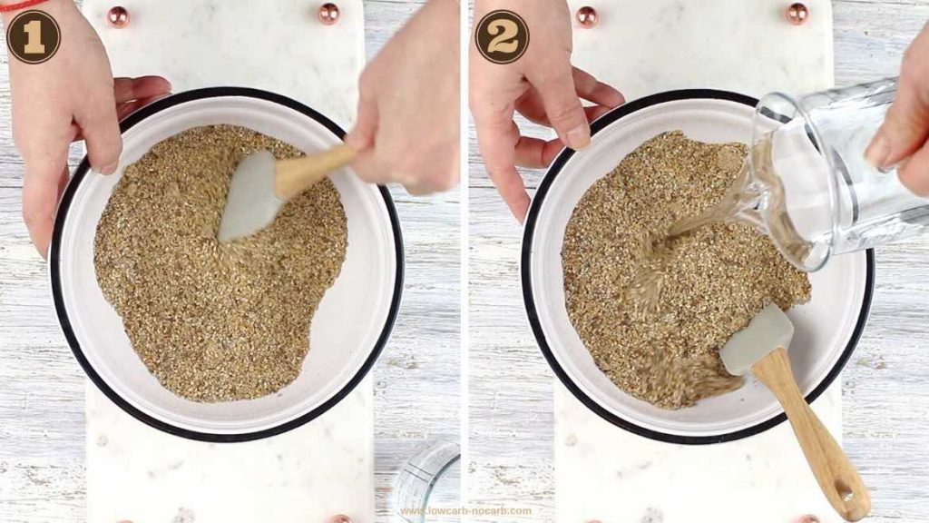 Raw Seed Keto Crackers Bread