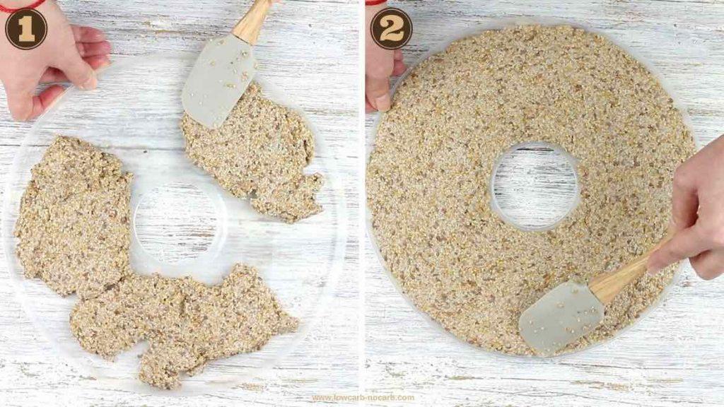 Keto Seeds Bread Crackers
