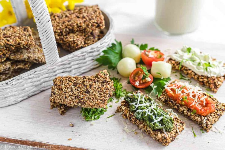 Dehydrated Seeds Bread - Crackers