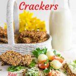 Multiseed Keto Crackers