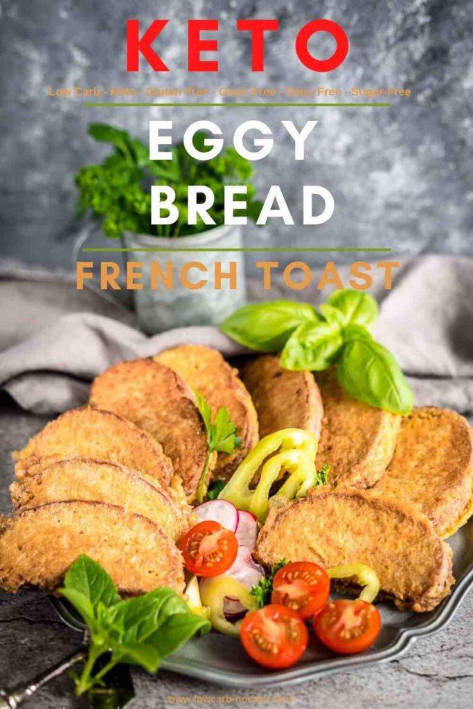 Real Deal Keto Eggy Bread Recipe