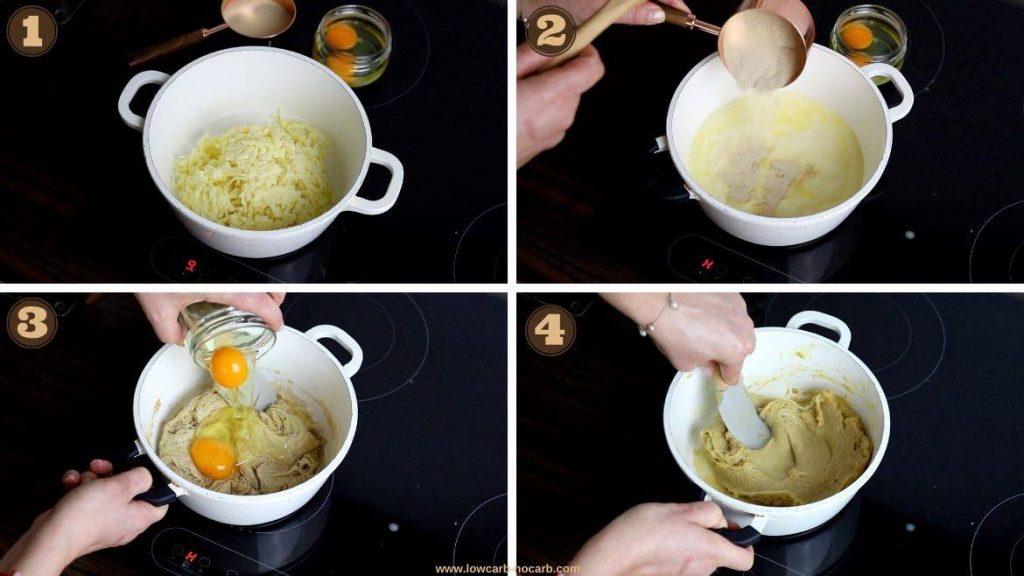 Oat Fiber Recipes making Fathead dough with potato or oat fiber