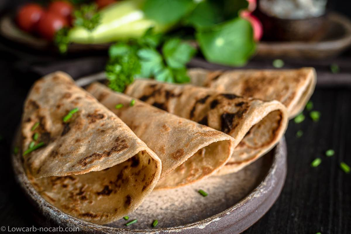 Keto Fiber Tortillas Recipe ready to use