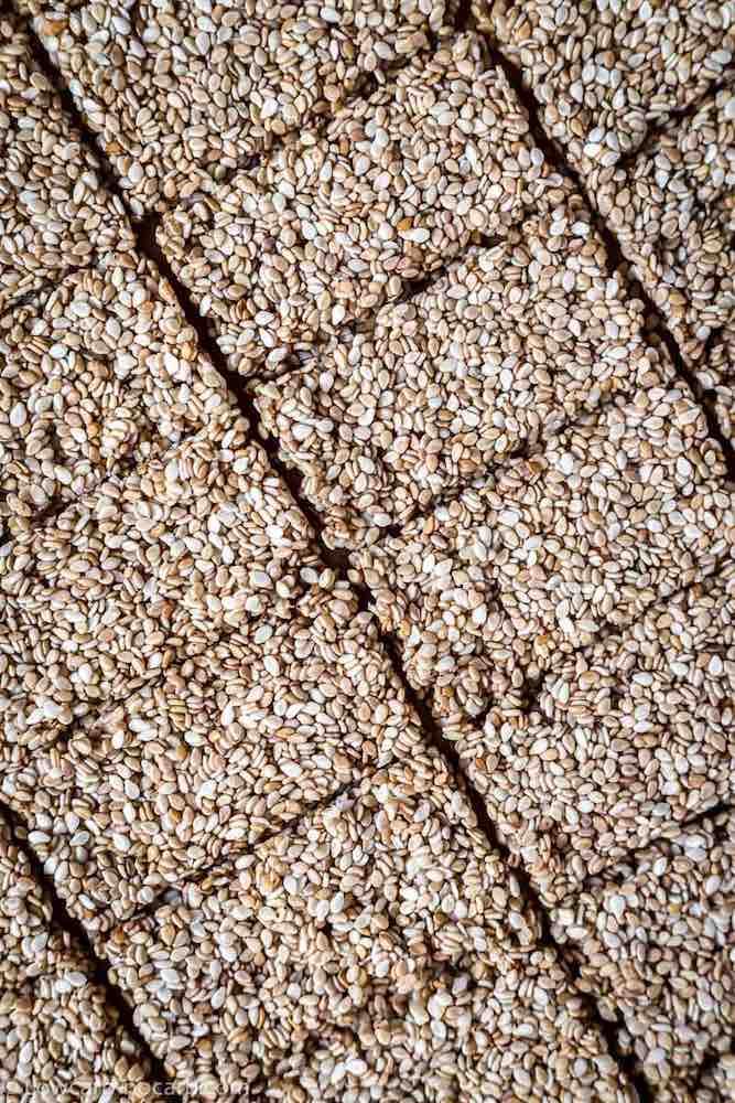Sugar-Free Chewy Sesame brittle