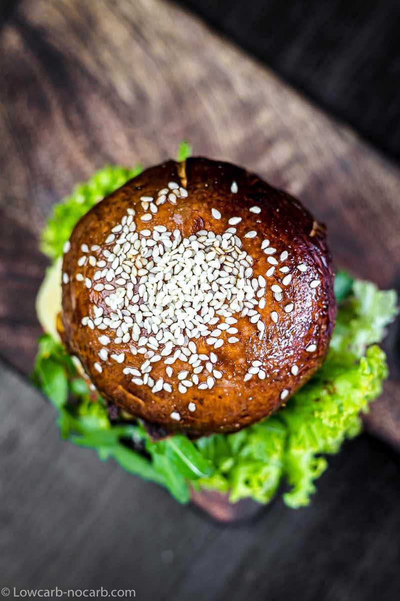 Portobello Mushroom Keto Burger