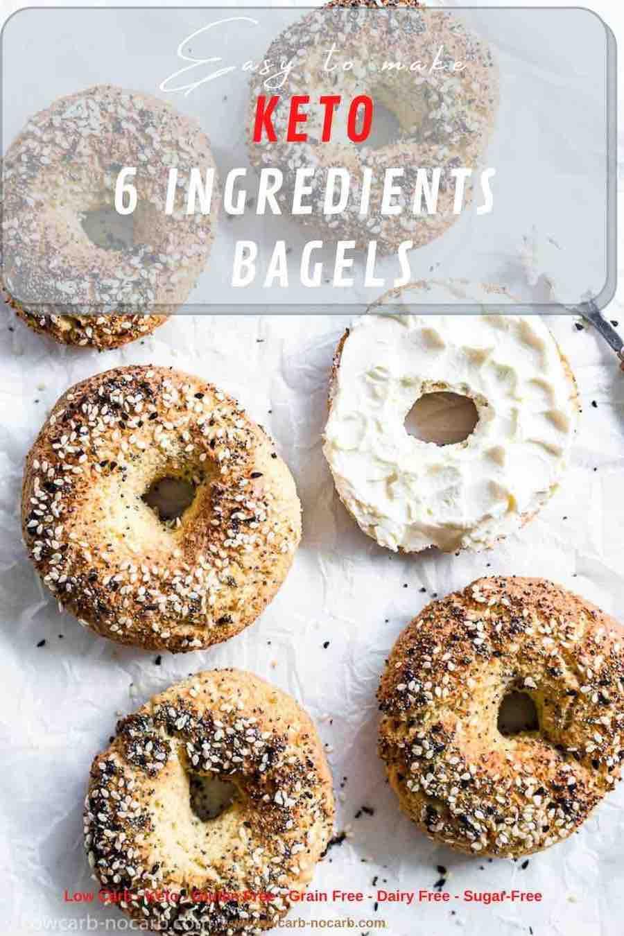 Tasty Keto Bagels For Breakfast