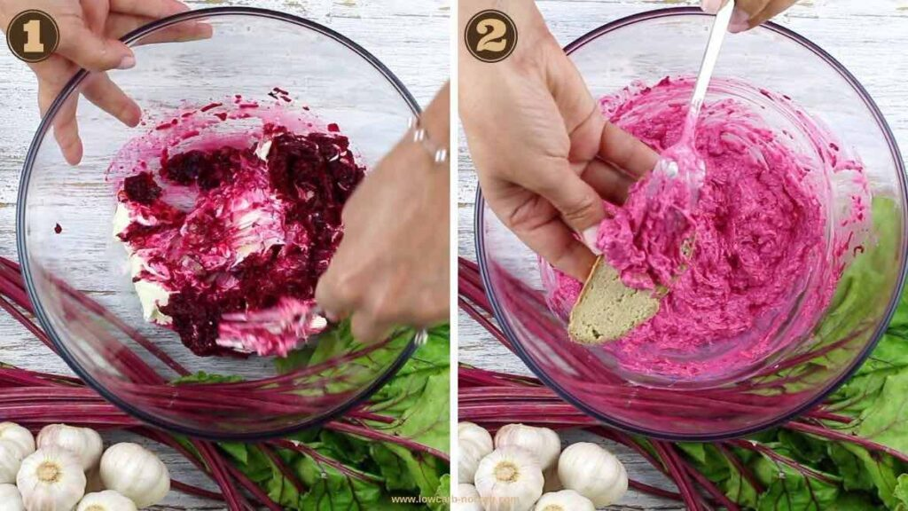 Easy Fast and Affordable Beets spread