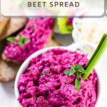 Oven Roasted Beet Spread Recipe