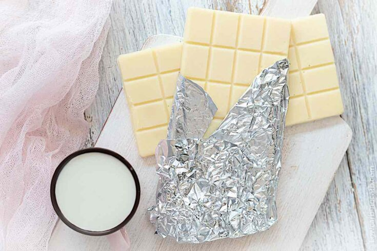 Creamy Keto White Chocolate