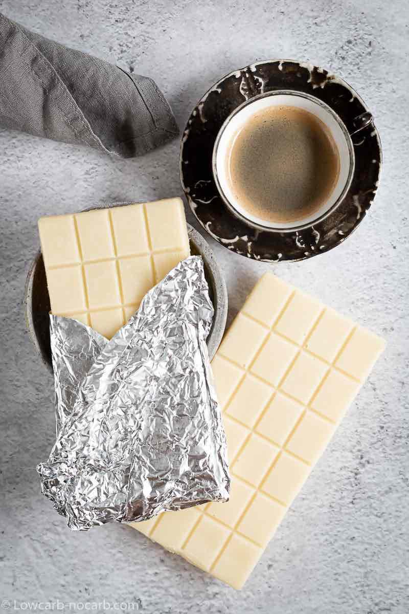 Keto White Chocolate Bar