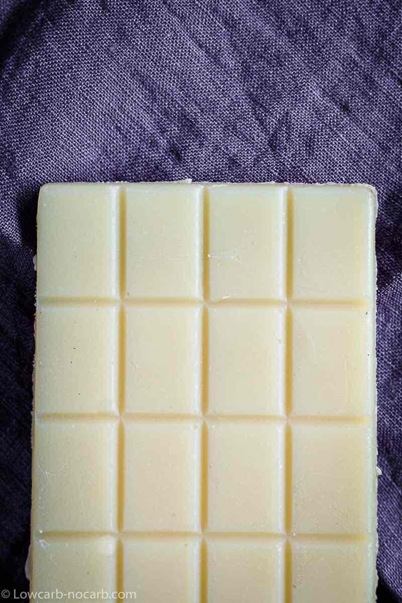Sugar-Free White Chocolate Bar