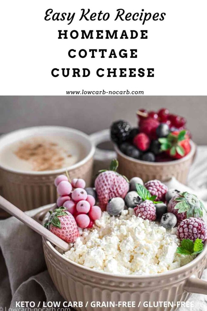 Homemade Curd Cheese