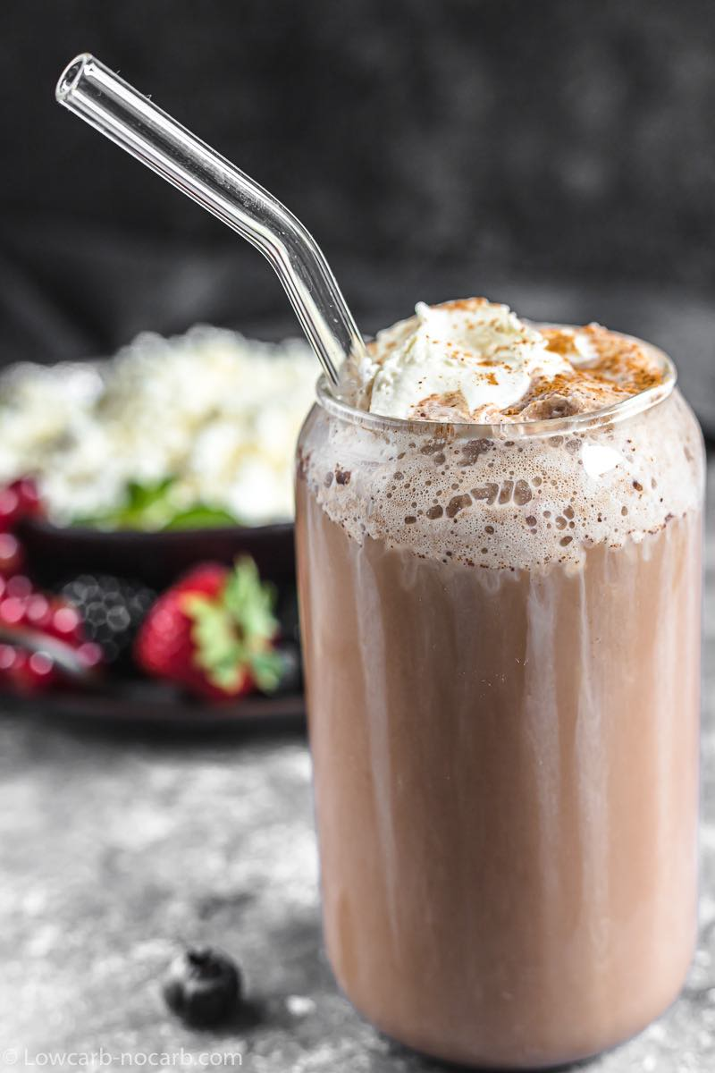 Keto Instant Hot Chocolate Mix