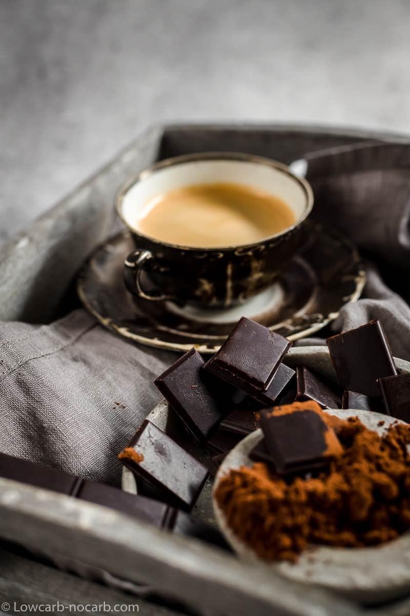 Sugar-Free Homemade Chocolate Bar