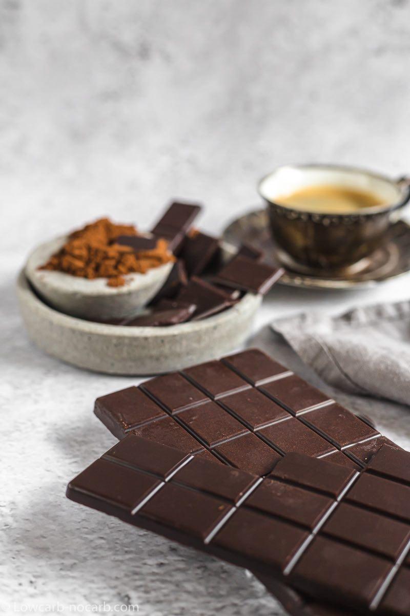 Easy Keto Chocolate Bar