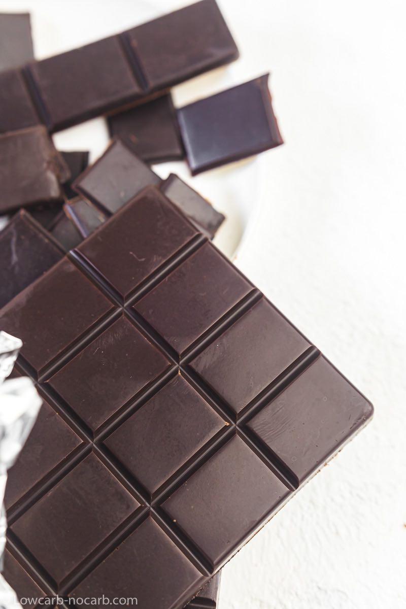 Easy Homemade Keto Chocolate Bar