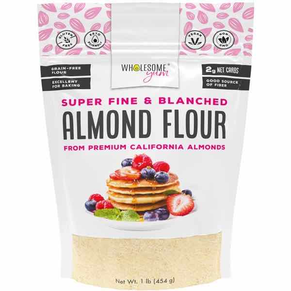 Wholesome Yum Super Fine Blanched Almond Flour