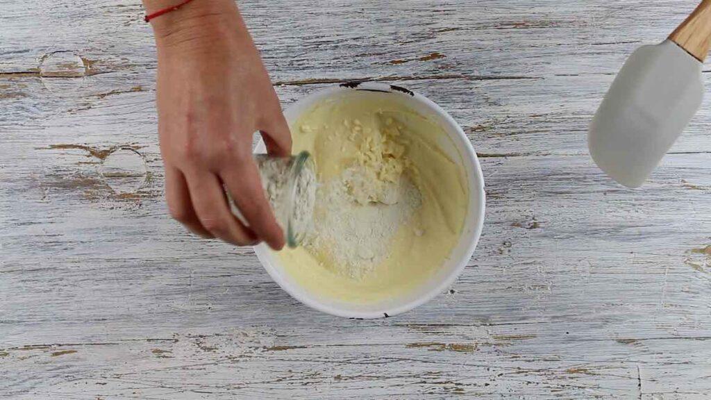 Coconut Flour Keto Gnocchi adding Guar Gum